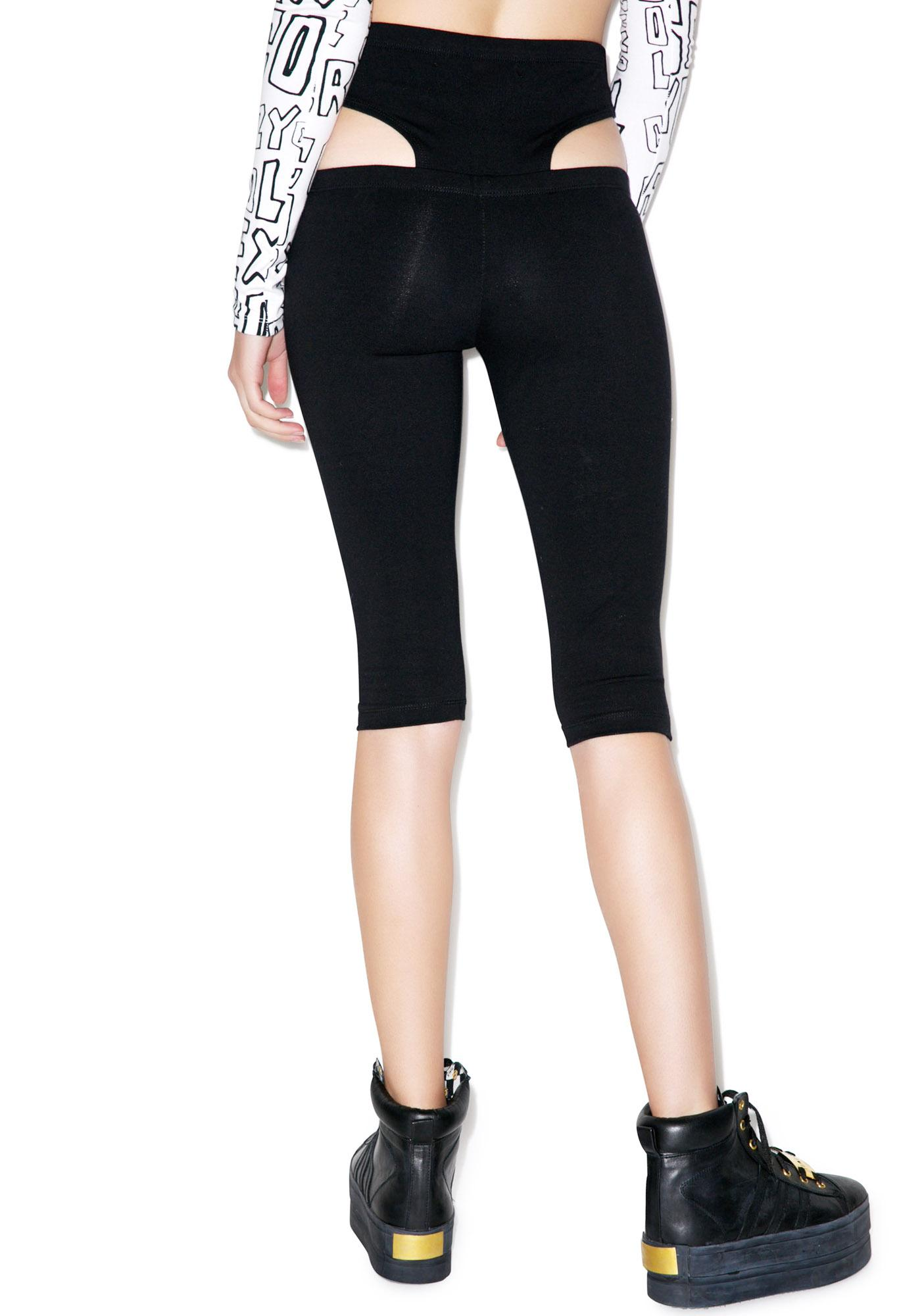 This Is A Love Song Limo Leggings
