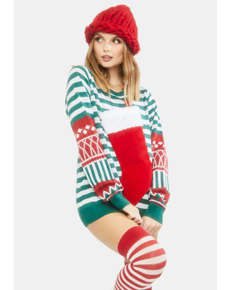 Stocking Stuffer Holiday Sweater