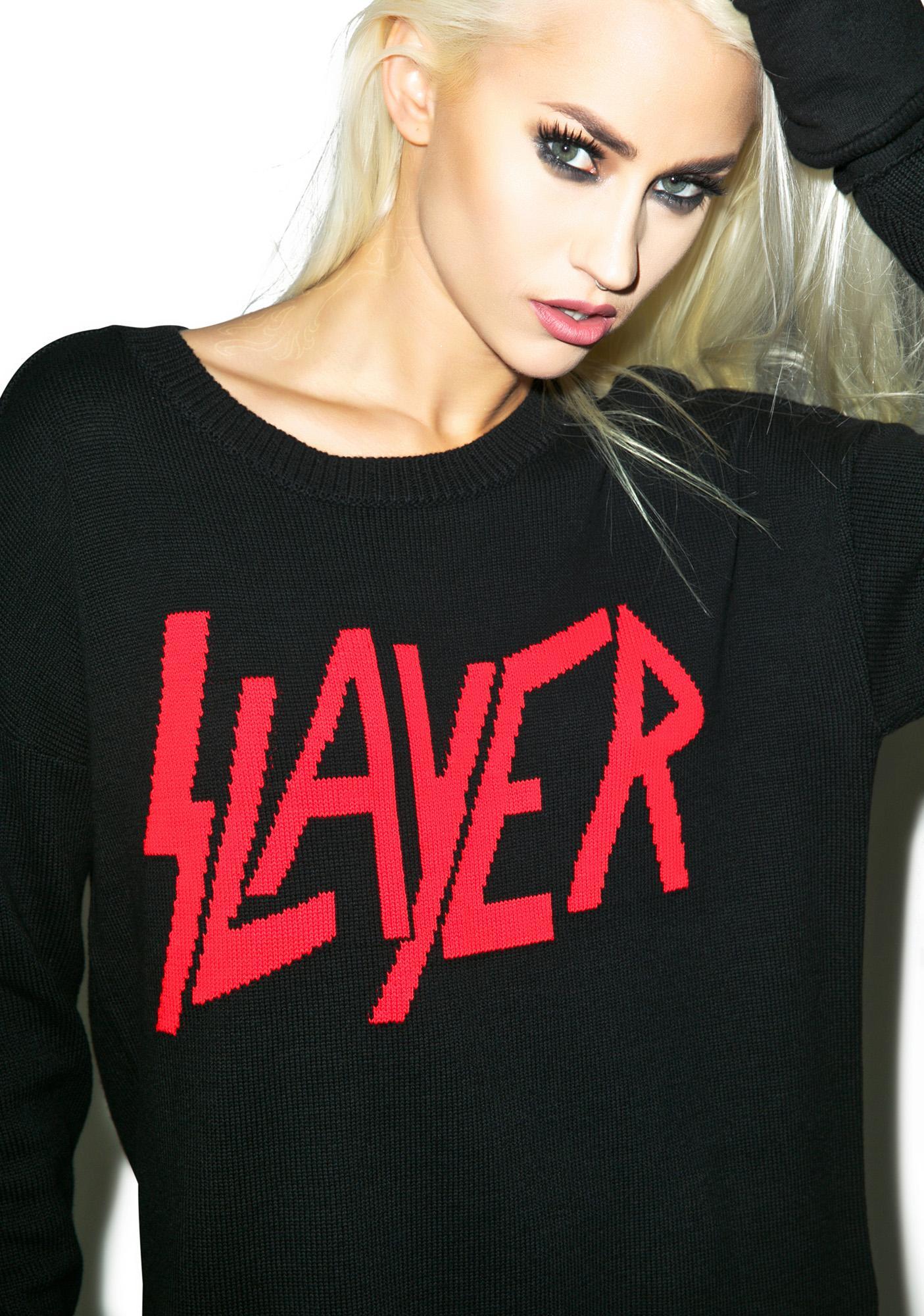 Iron Fist Slayer Torn Sweater
