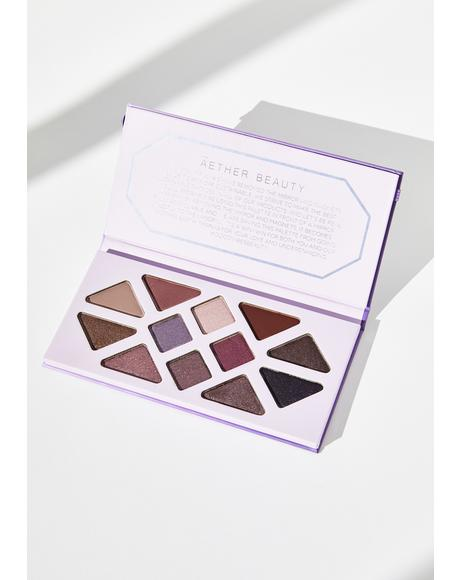 Amethyst Crystal Charged Eyeshadow Palette