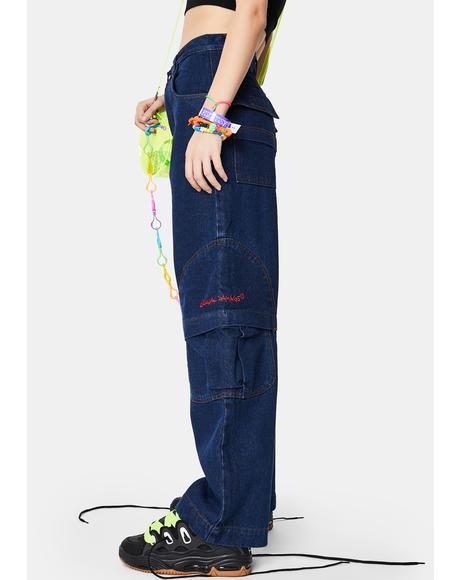 Blue Boardwear Jeans