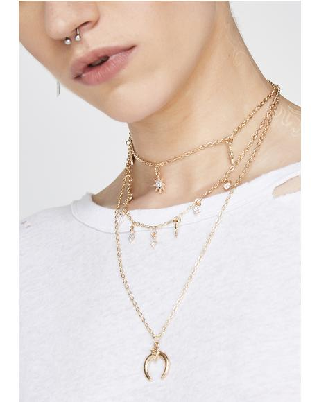 In The Stars Layered Necklace