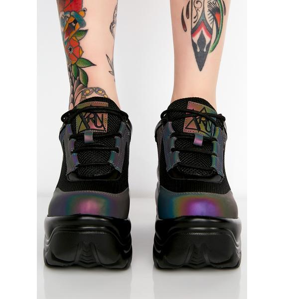 Y.R.U. Matrixx Reflective Platform Sneakers