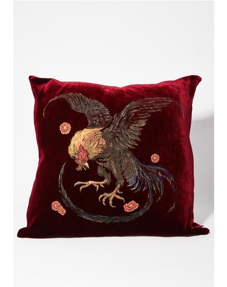 Wild Cock Pillow