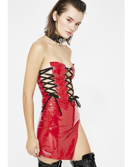 Spicy Forbidden Sins Mini Dress