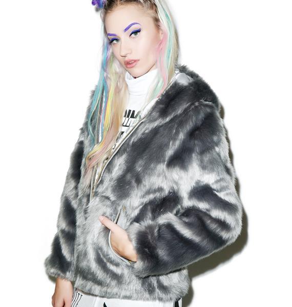 Joyrich Candy Fur Jacket