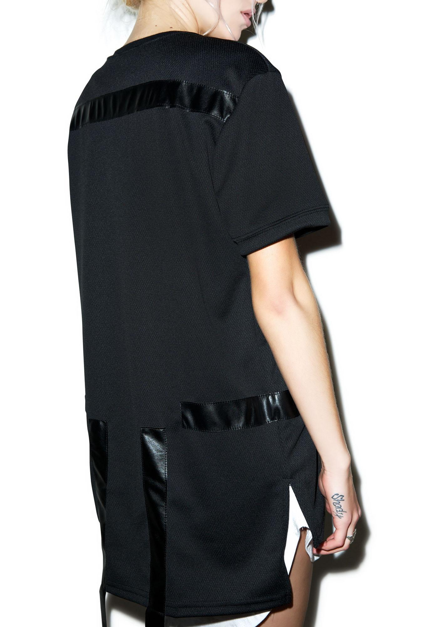 Max Leather Strips Tee
