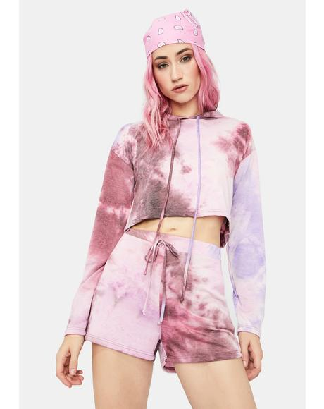 Magic Give Chill A Chance Tie Dye Jogger And Jacket Set