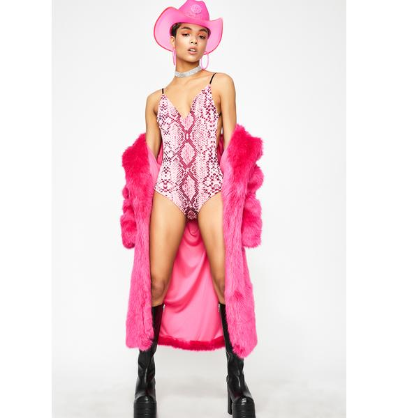 Candy Neon Jungle Backless Bodysuit