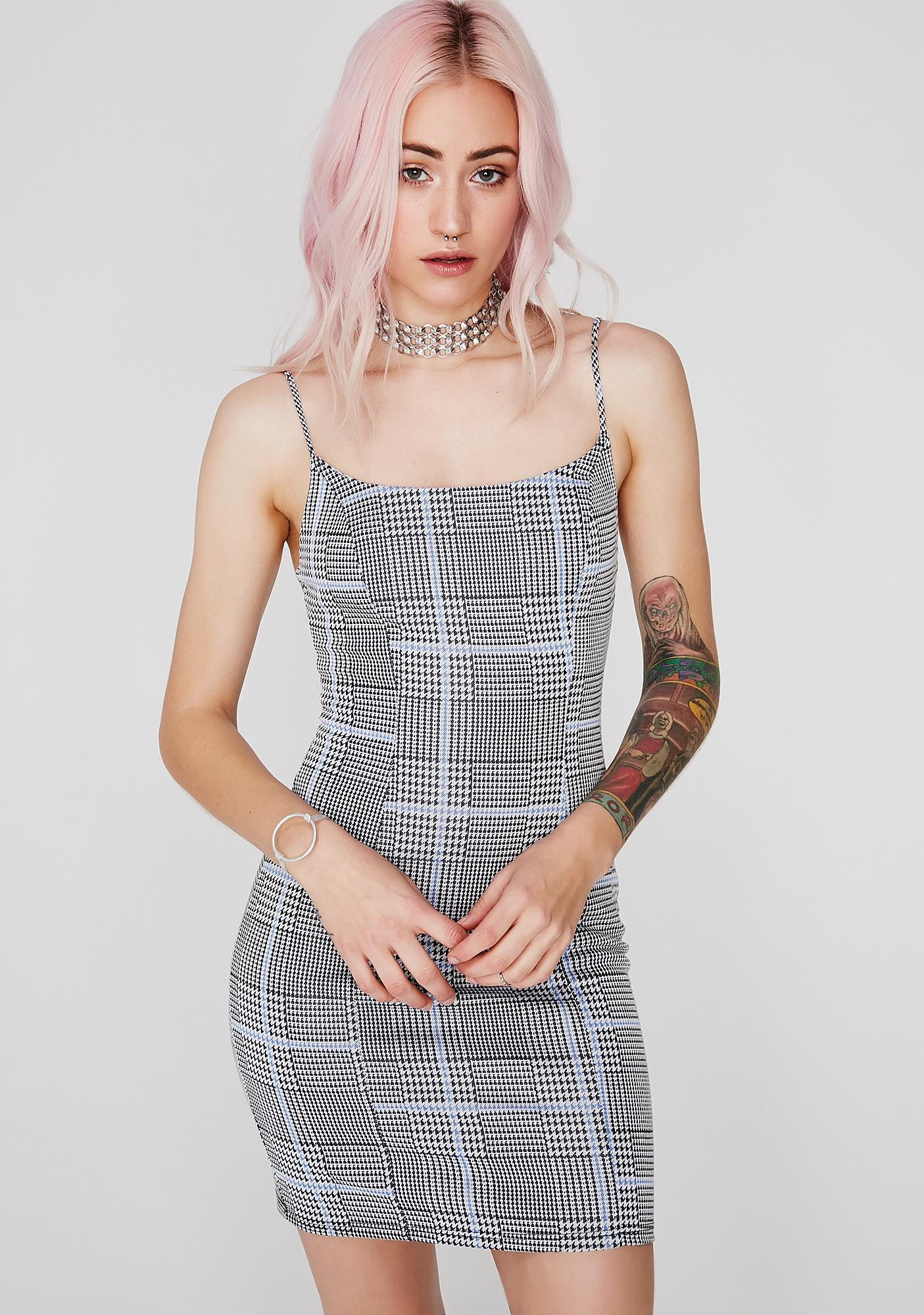 Too True Plaid Dress