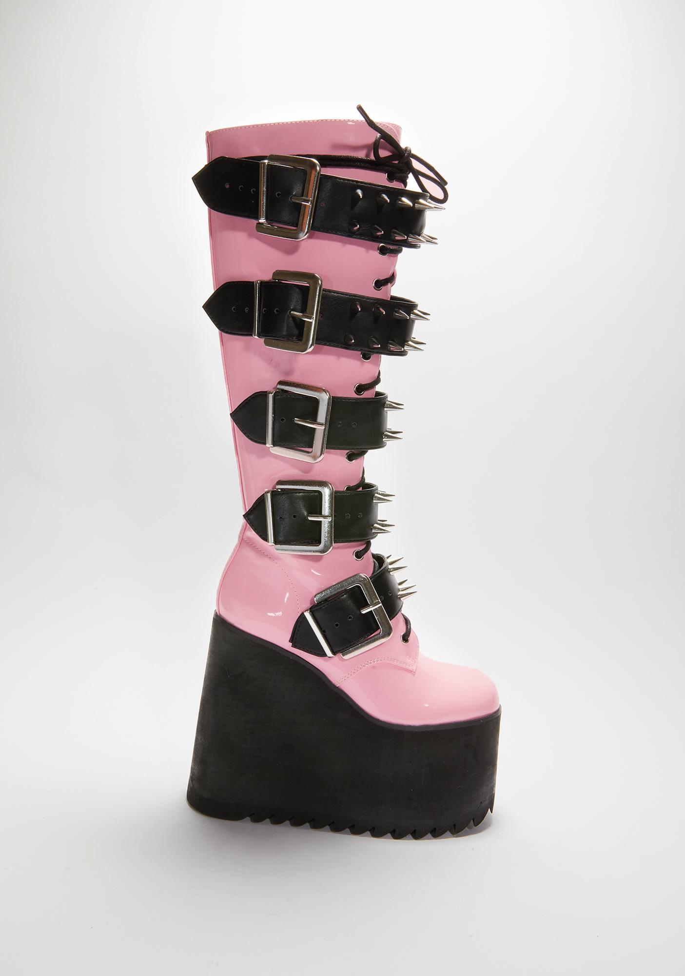 Widow Sweet Appetite For Destruction Platform Boots