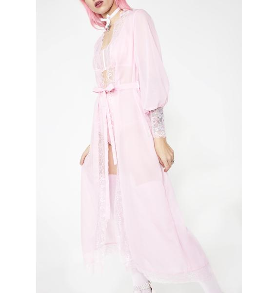 Sugar Thrillz Pure Love Sheer Robe