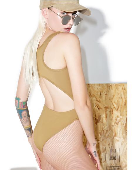 Cutout Bodysuit