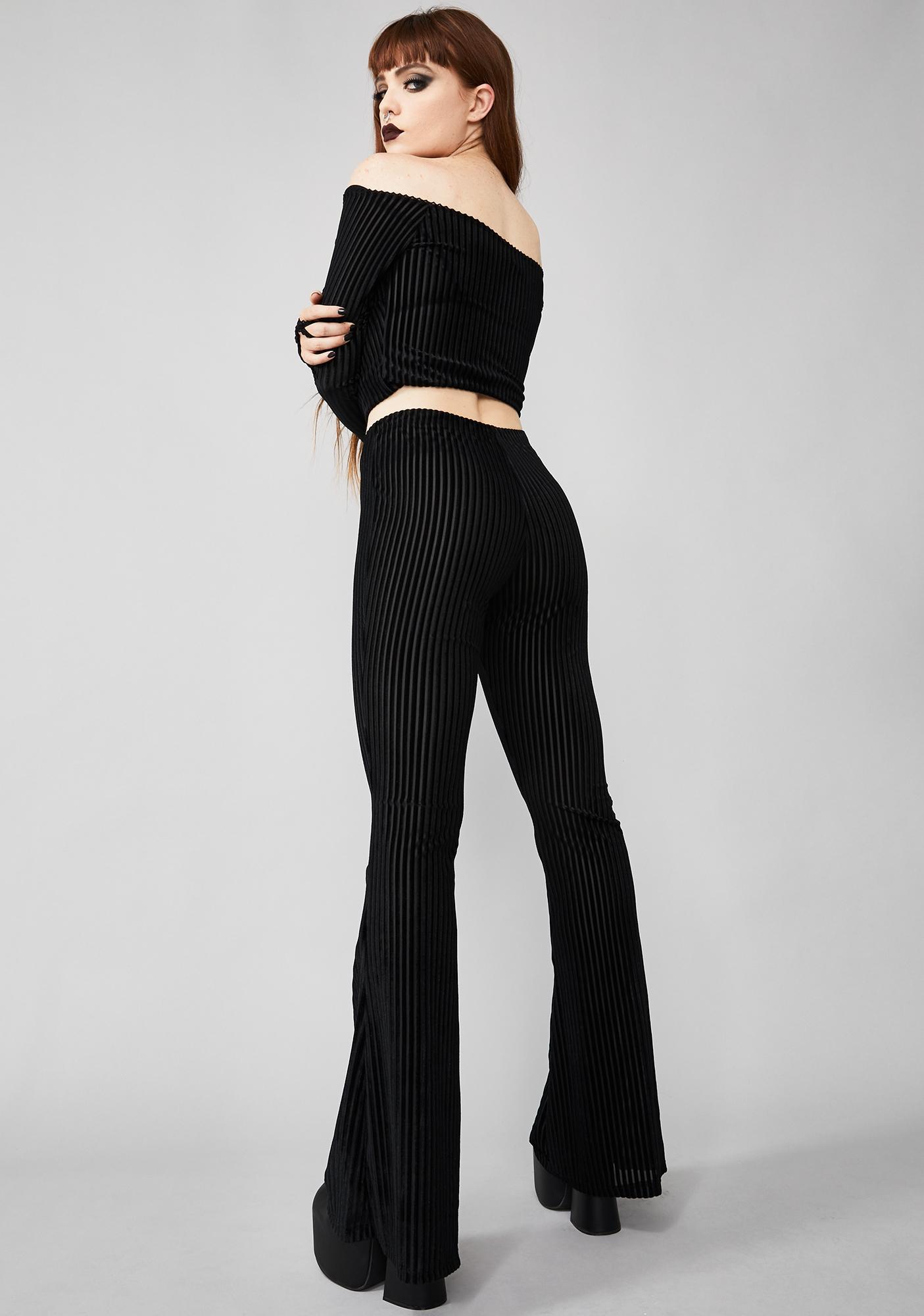Widow Bad Dream Flare Pants