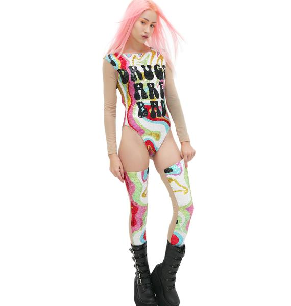 This Is A Love Song X Dolls Kill Super Psychedelic Thigh Highs