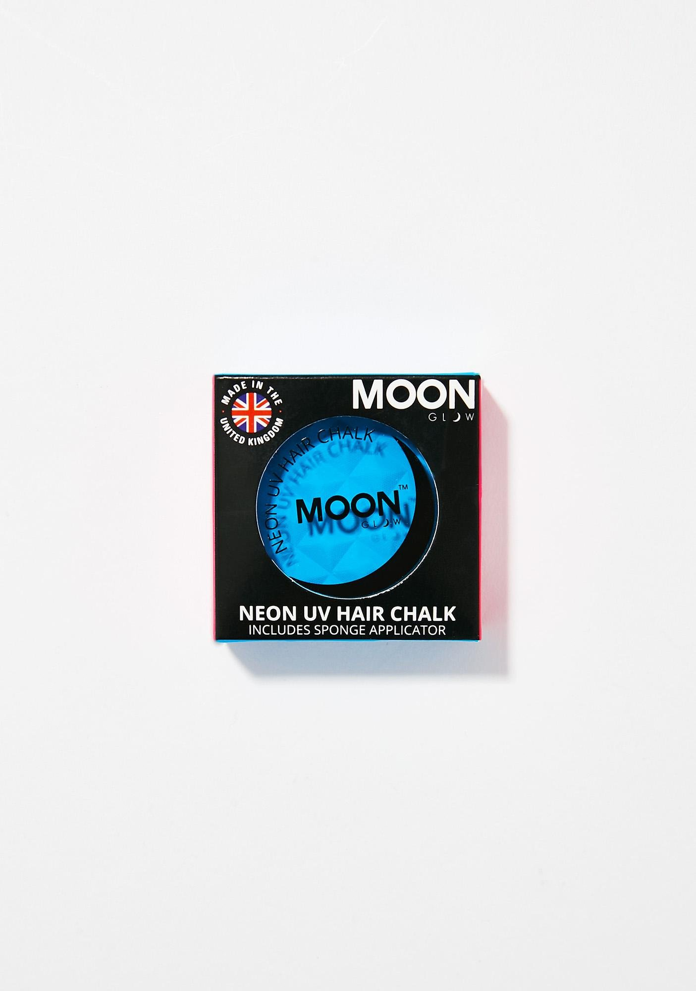 Moon Creations Neon Intense Blue UV Hair Chalk
