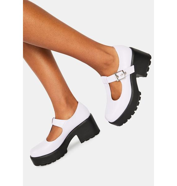 Koi Footwear Lilac Sai Mary Janes