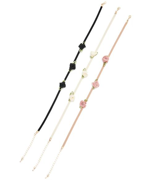 Flower Babe Choker Set