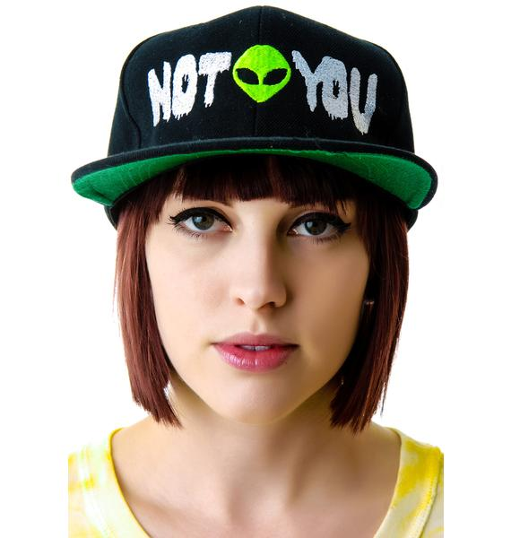 United Couture Not You Alien Snapback