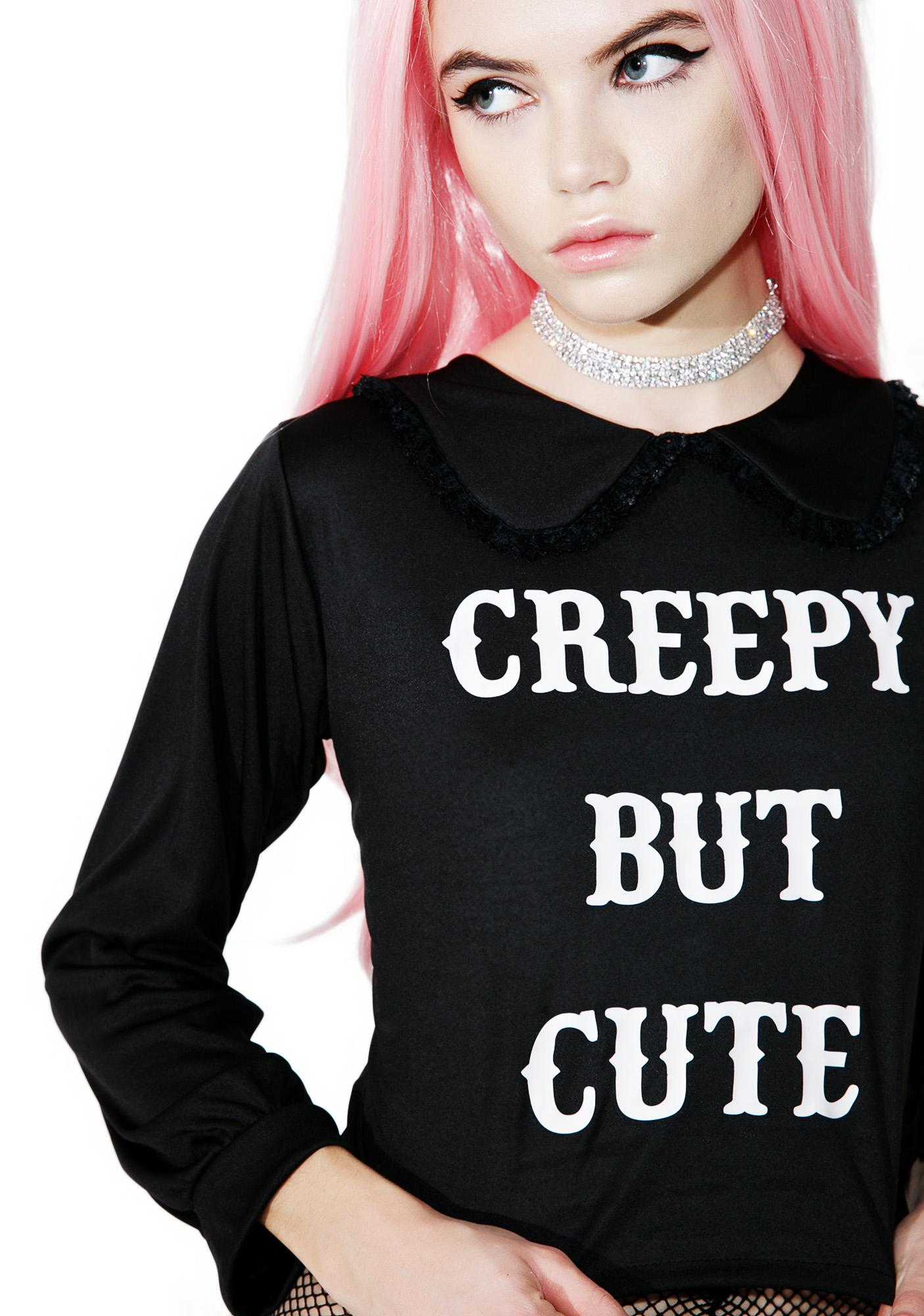 Creepy But Cute Long Sleeve Tee