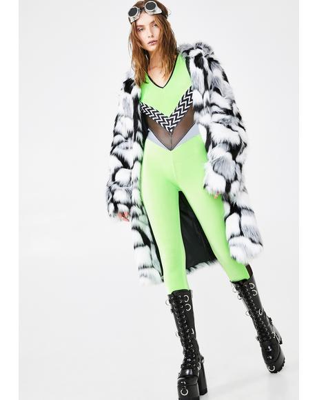 Velvet Slime Babe Catsuit