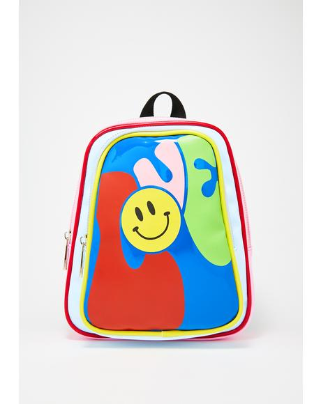 Love Haight Vinyl Backpack