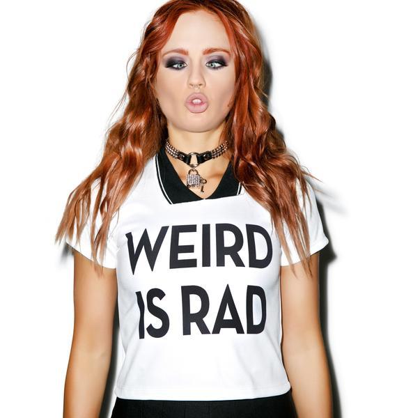 Weird Is Rad Polo Tee