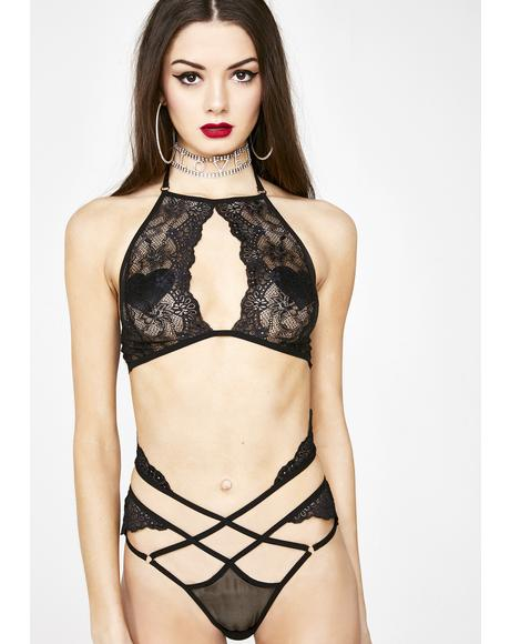 Forbidden Flirt Lace Set