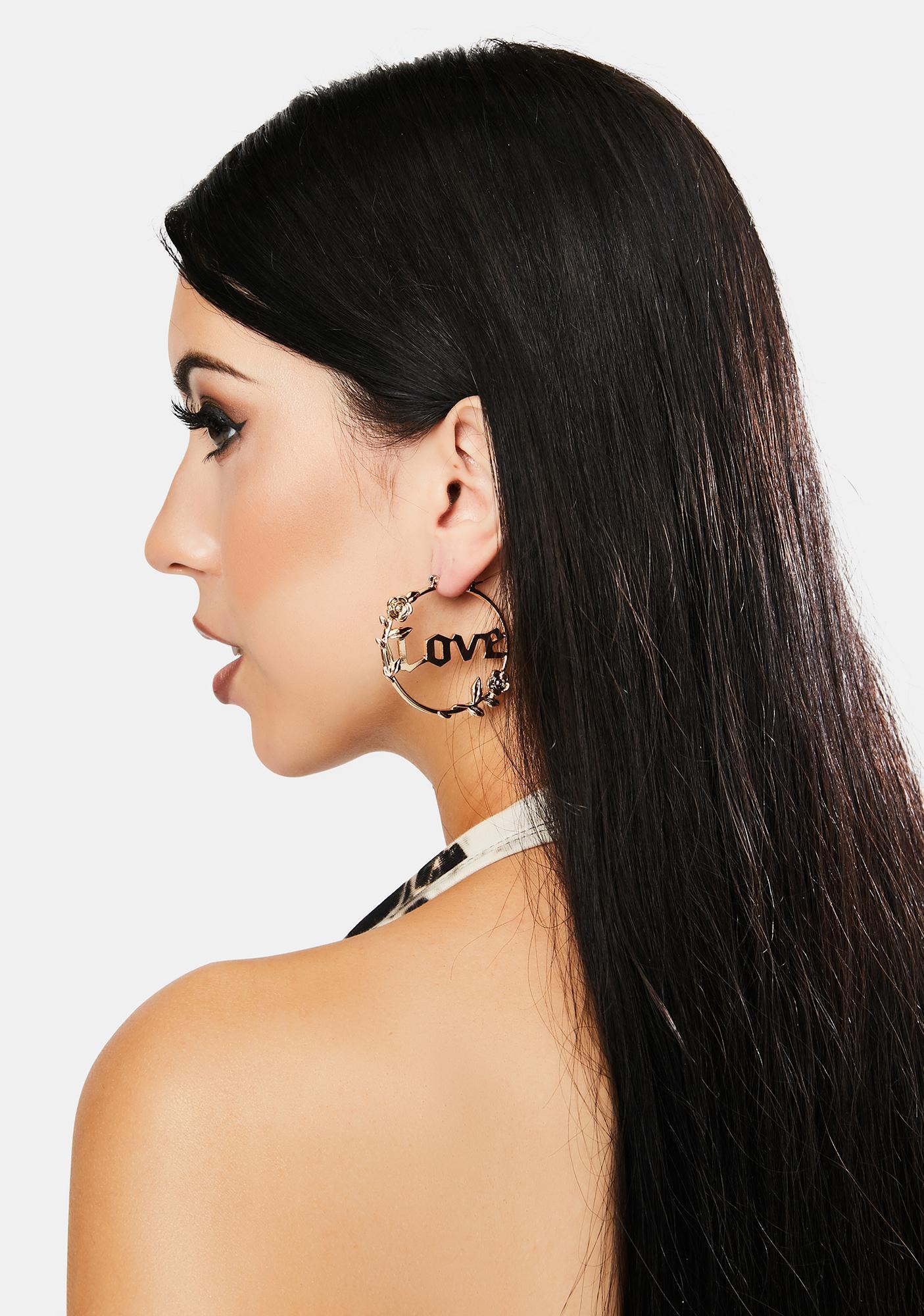 Forever Lover Hoop Earrings
