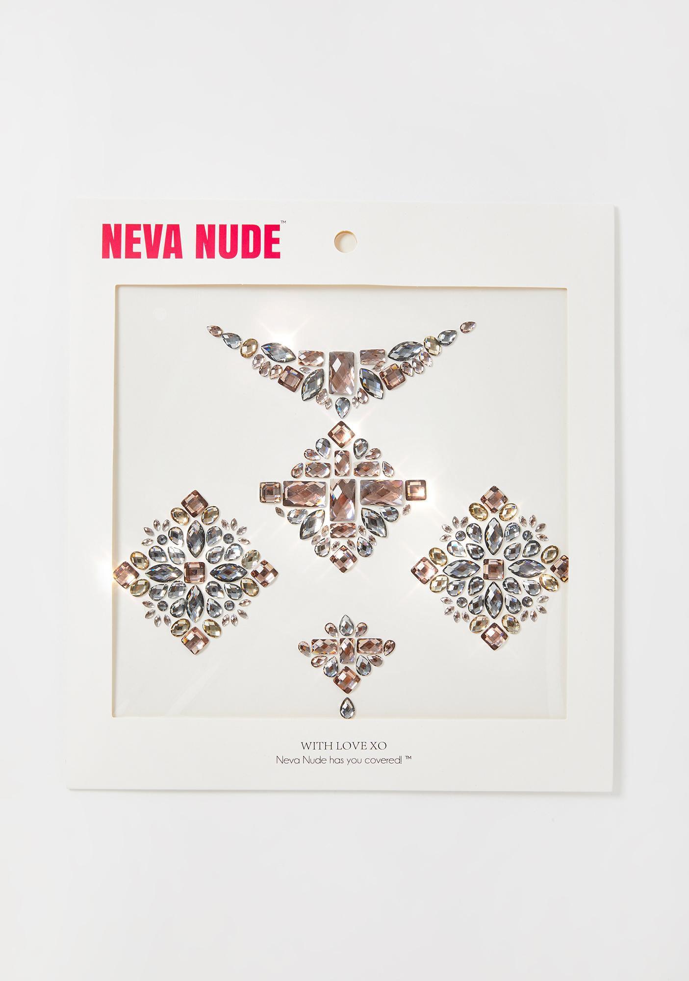 Neva Nude Hunger Games Body Gems Set