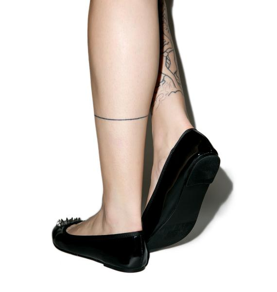 Demonia Tainted Love Flats