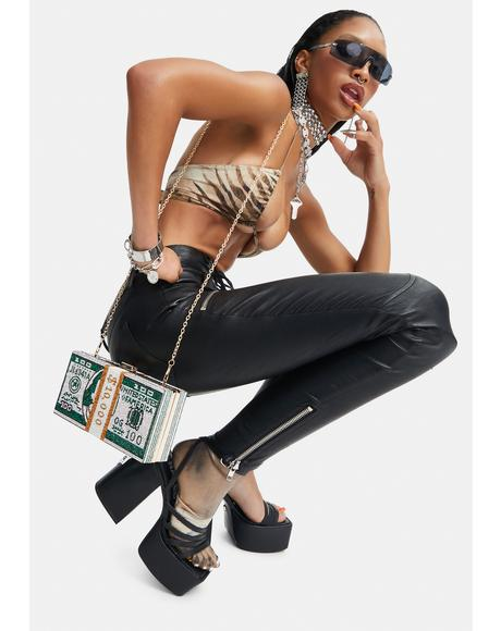 Zenith Rhinestone Crossbody Bag