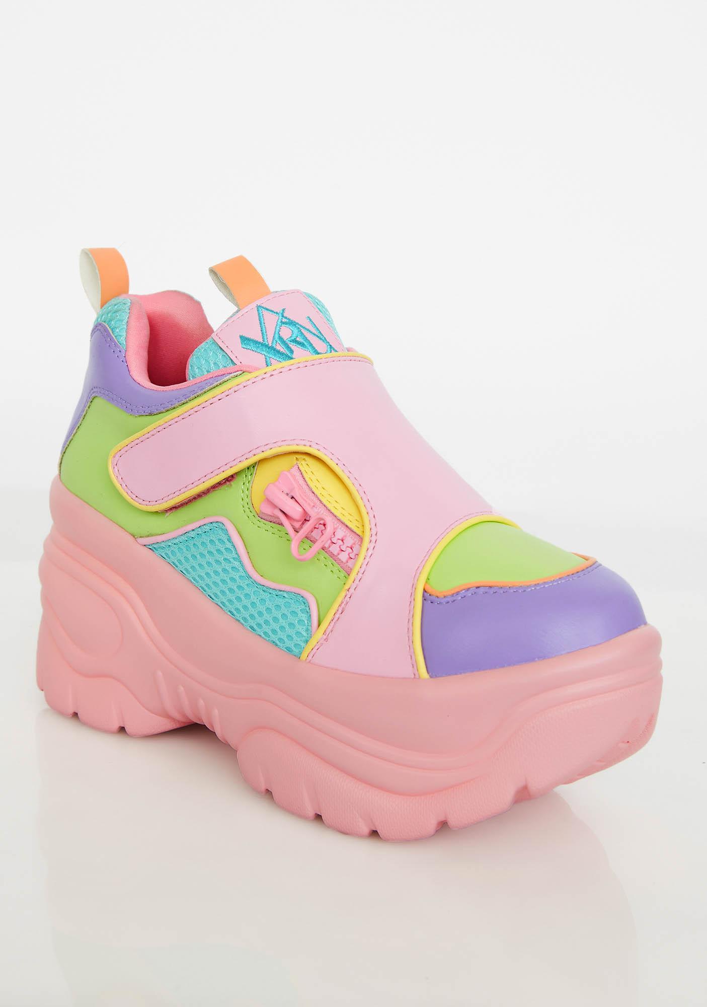 Y.R.U. Matrixx 2 Pastel Platform Sneakers