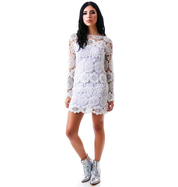 Summer Of Love Crochet Dress