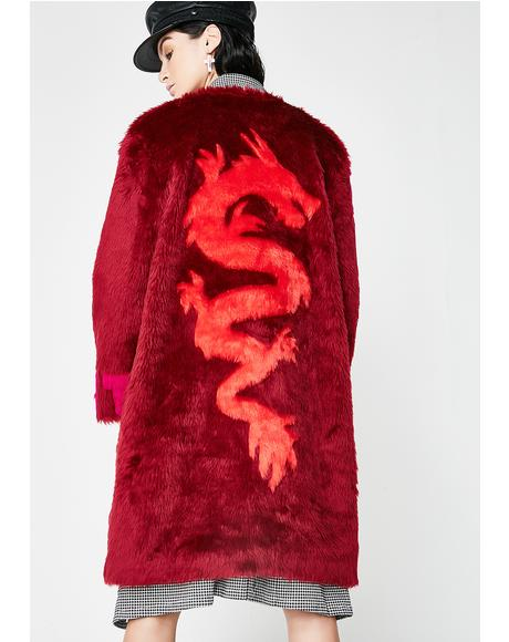 Vogue Long Fur Coat