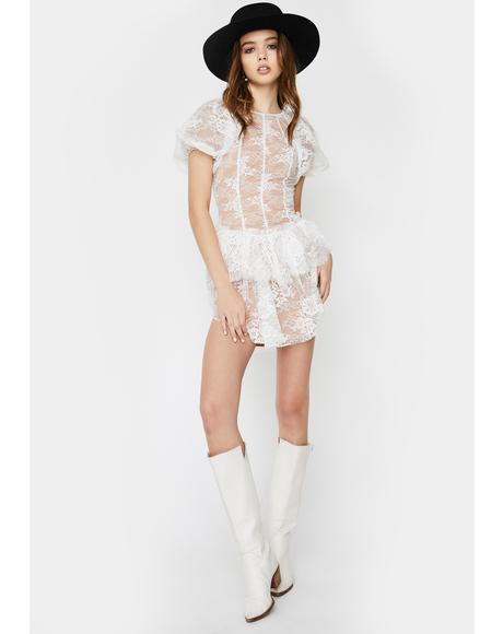 Verbena Lace Mini Dress