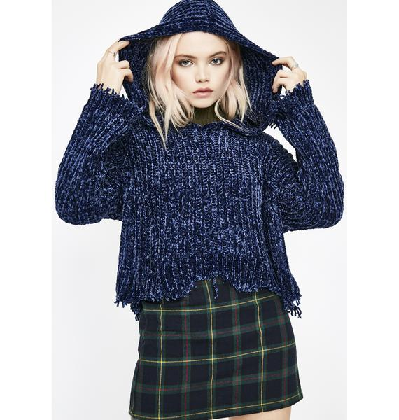 Forest Nymph Hooded Sweater