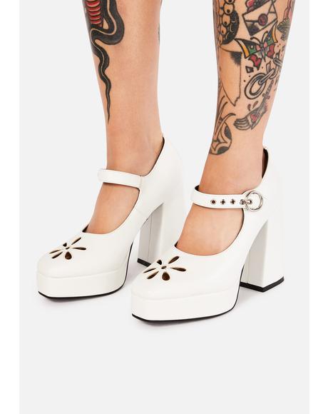 Angel Growing Up Platform Heels