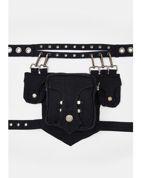 Heavy Metal Waist Bag