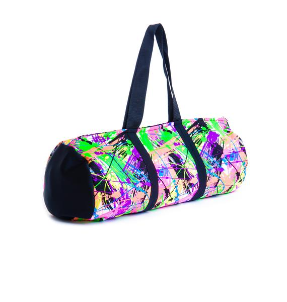 Terez Neon Splatter Dance Bag