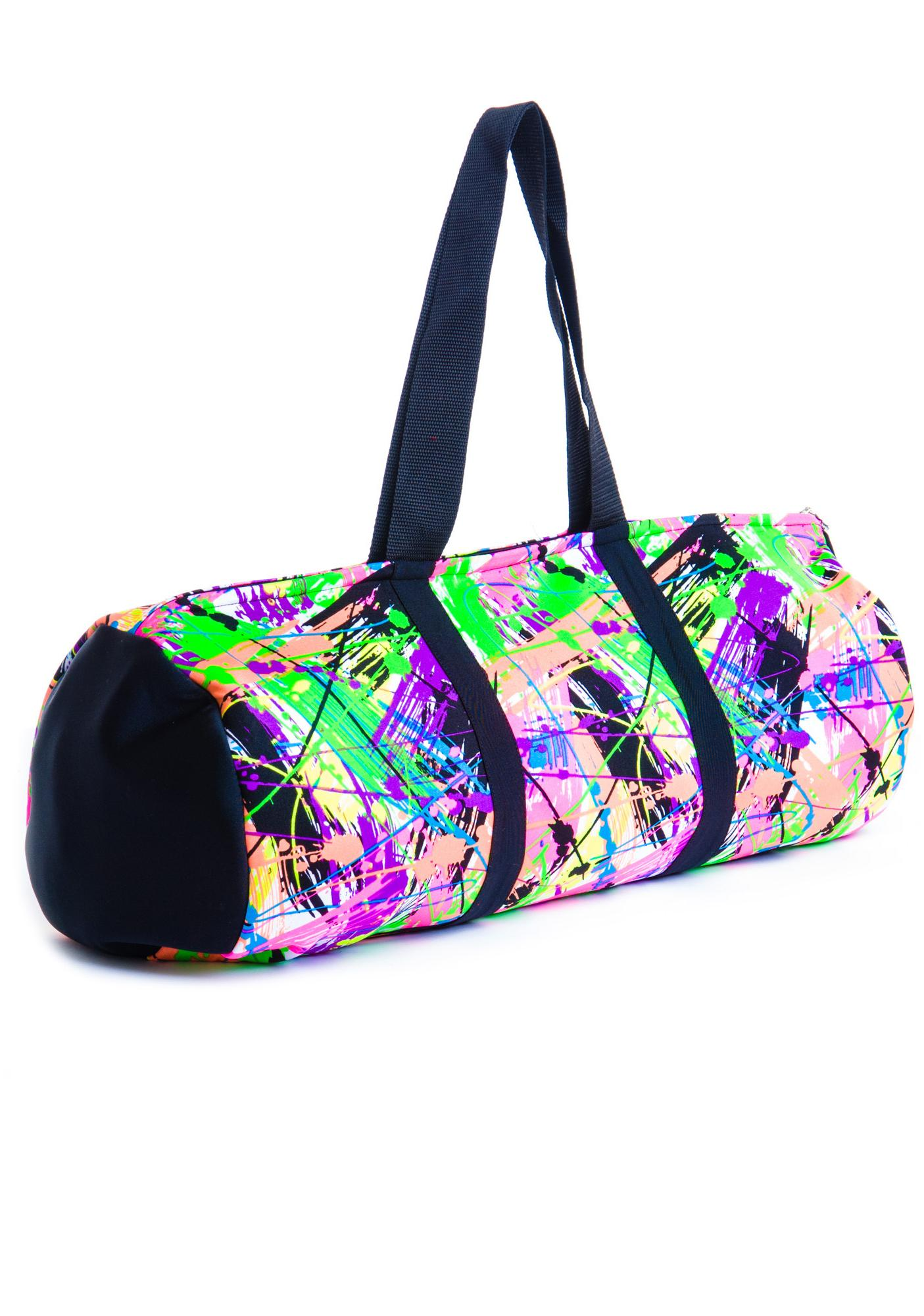 Zara Terez Neon Splatter Dance Bag