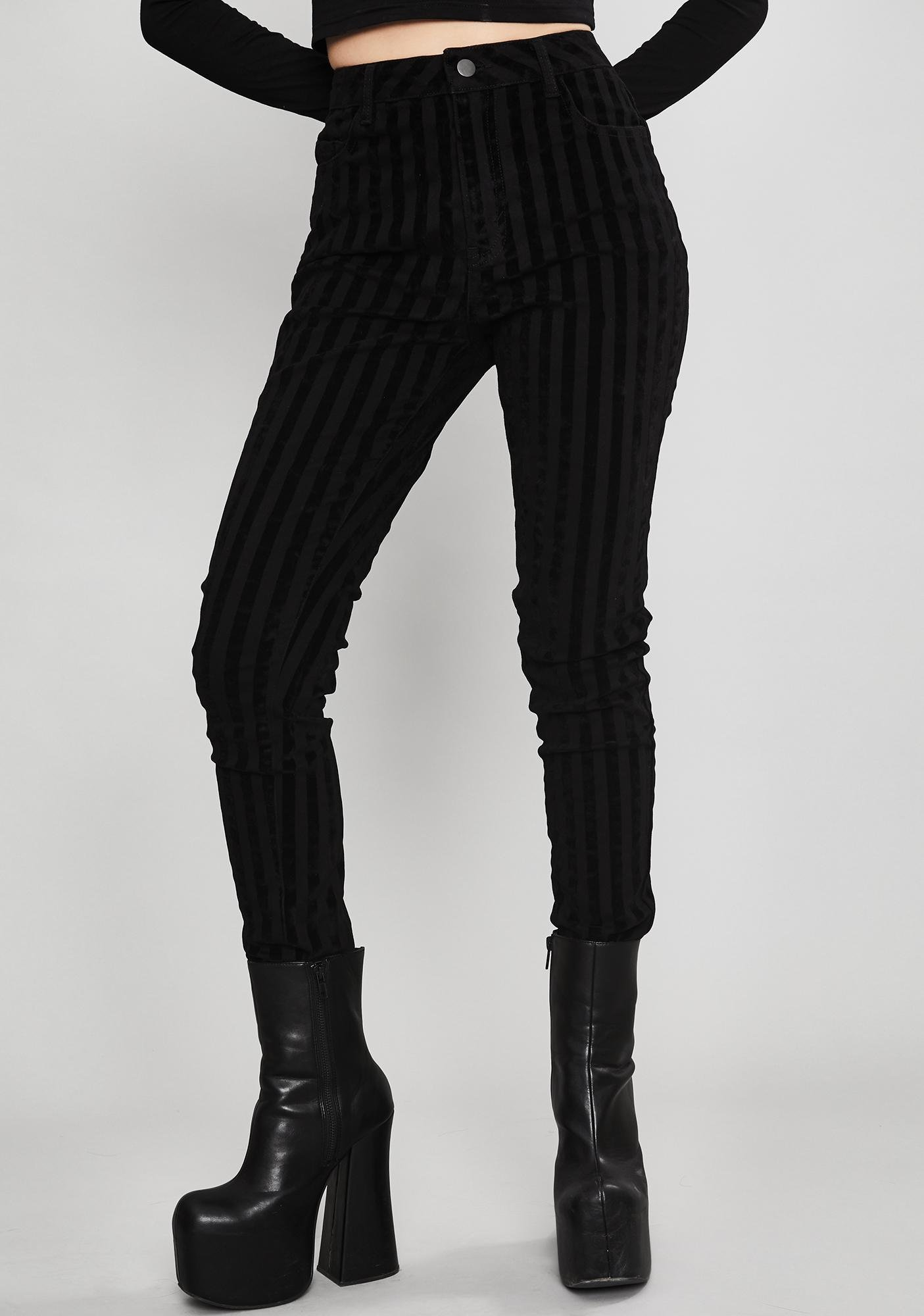 Widow Fallen Idol Striped Jeans