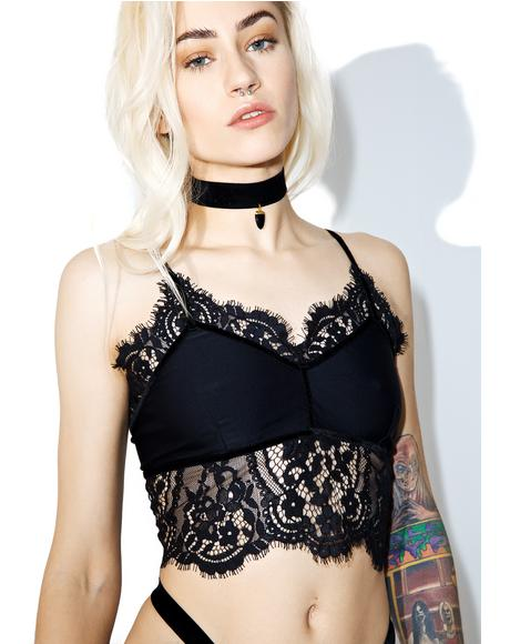 Midnight Emerie Cami Bra