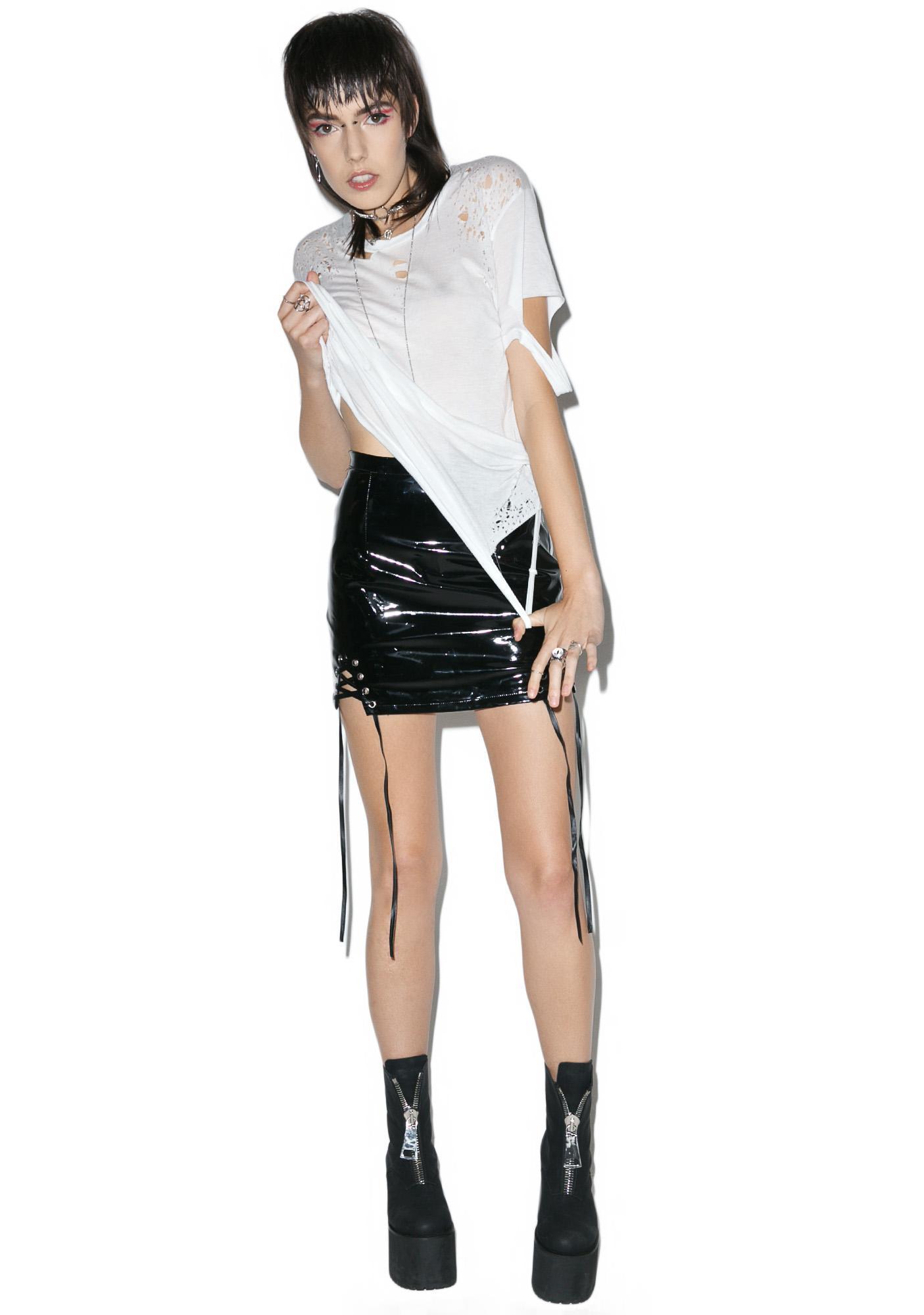 The Trash Rack Pact Mini Skirt