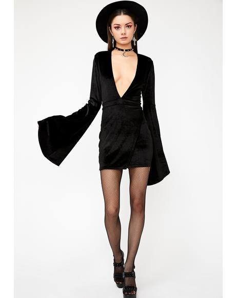 Wicked Thoughts Velvet Dress
