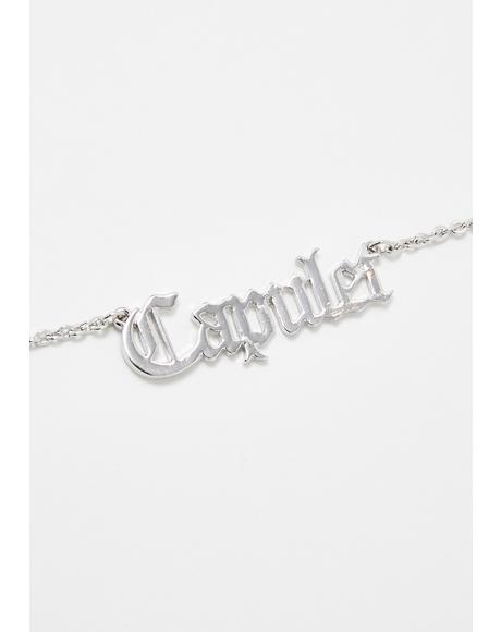 Crushin' On A Capulet Necklace