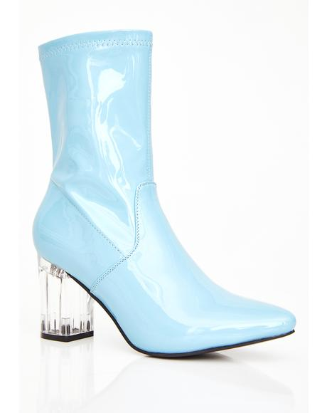 Liquid Candy PVC Booties