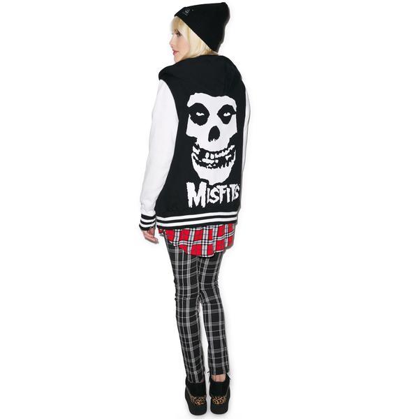 Iron Fist Misfits Varsity Jacket