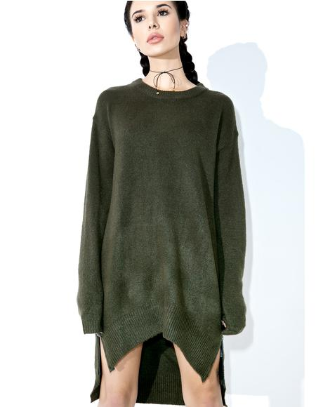 Delphi Zipped Sweater