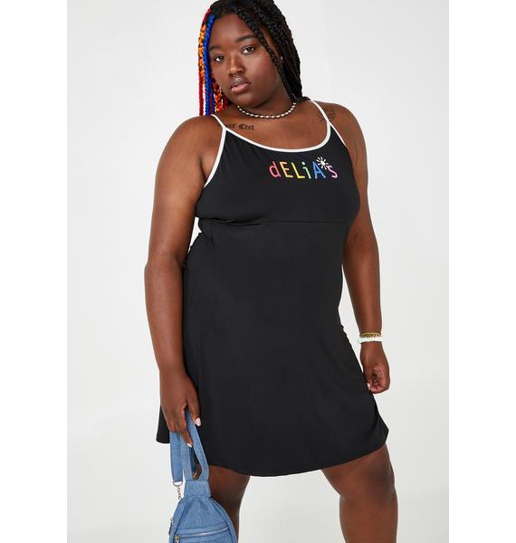 dELiA*s by Dolls Kill My New Direction Slinky Dress
